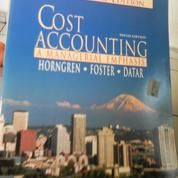Cost Acounting/International Edition by Horngren, Foster, Datar (4509639) di Kota Bandung