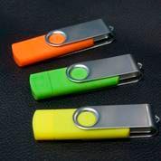 Flashdisk OTG Dual USB 4 GB Swivel (4539643) di Kota Tangerang