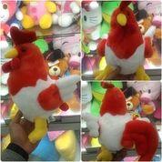 Boneka mainan aksesoris hiasan rumah mobil kantor ayam fenton / fenton chickens SNI NEW murmer