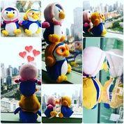 Boneka mainan anak tokoh kartun Si Petty ceweknya Pororo The Little Penguin grade super ORI SNI NEW murah (4849585) di Kota Jakarta Selatan
