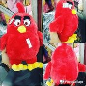 Boneka mainan anak tokoh permainan HP & film kartun The Angry Bird merah grade super ORI SNI NEW murah
