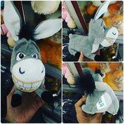 Boneka mainan anak Sihewan lambat & bodoh Keledai tokoh film kartun SHREK SNI ORI NEW murner