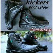 Sepatu Boots / Sepatu Kickers / Sepatu Safety / Sepatu Kulit / Sepatu Kerja /PDL TNI POLRI