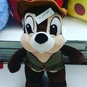"Boneka karakter hewan Si Tupai kuto koboi tokoh film kartun Alvin and The Chipmunks ORI SNI NEW murmer 16"" inchi 41cm (4962035) di Kota Jakarta Selatan"