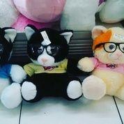"""Boneka mainan anak hewan kucing lucu & menggemaskan Tokoh film kartun Cat Melky T'Shirt and Glasses 11"""" inchi 30cm ORI SNI NEW kualitas ekspor (4976339) di Kota Jakarta Selatan"""