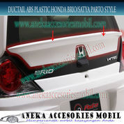 Ducktail ABS Plastik Mobil Honda Brio Parto Style Sesuai Warna Body (5071845) di Kota Tangerang