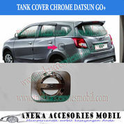 Garnish Tutup Bensin Mobil Datsun Go+ Panca Chrome Sporty