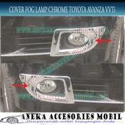 Ring Fog Lamp/Cover Fog Lamp Chrome Mobil Toyota Avanza VVTi (5119237) di Kota Tangerang
