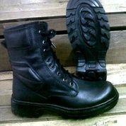 Sepatu PDL TNI POLRI Brimob Security / Sepatu Touring / Sepatu Kulit / Sepatu Safety Boots