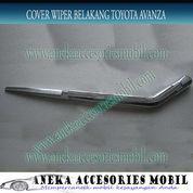 Cover/Garnish Wiper Belakang Chrome Toyota Avanza (5147581) di Kota Tangerang