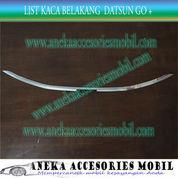 List Kaca Belakang/Back List Kaca Luxury Mobil Datsun Go+ Chrome