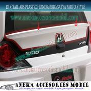 Ducktail ABS Plastik Mobil Honda Brio Parto Style (5148659) di Kota Tangerang