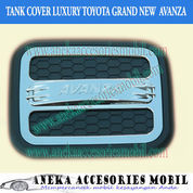 Garnish Tutup Bensin/Tank Cover Icon Luxury Toyota Grand New Avanza (5148931) di Kota Tangerang