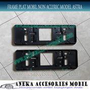 Frame/Cover Plat Mobil Tanpa Aclyric Datsun Go Ukuran 46,5 cm