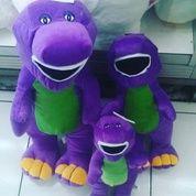 Boneka mainan anak karakter hewan purba dinosaurus tokoh TV show The Barney 3 ukuran grade super ORI SNI NEW murmer (5159259) di Kota Jakarta Selatan