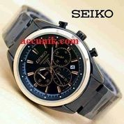 Jam Tangan Seiko R1174 -1 black gold