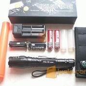 Senter police zoom T6 Power style Cree 15.000w,2 batree