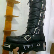 sepatu boot newrock