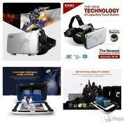 "Cardboard Ritech Riem 3 VR 3D 3rd Generation For Smartphone 4 -6"""