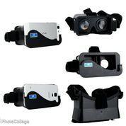 Smartphone 4-6,3 inchi - Google Cardboard Plastic + Head Mount VR
