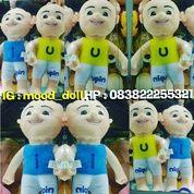 Boneka mainan anak tokoh serial film kartun TV Ipin dan Upin 1set uk.M 35cm SNI NEW murah kualitas eksport (5380557) di Kota Jakarta Selatan