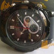 Jam tangan double Time Lasebo 809 karet