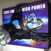 Headlamp Cree XML T6 Senter kepala (2 batree) (552710) di Jakarta