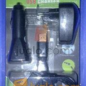 Travel Charger lighter USB komplit all in 1