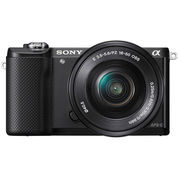 [PROMO] Sony Alpha A5000 with 16-50mm f3.5-5.6 OSS Black (5549857) di Kota Jakarta Barat