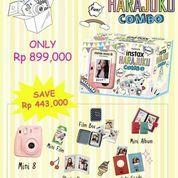 Fujifilm Instax Polaroid Mini 8 (Pink) + Refill 10 lembar (5572611) di Kota Jakarta Barat