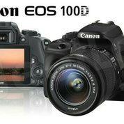 Canon EOS 100D Kit 18-55 is stm / Canon Eos 100 D Kit (5603061) di Kota Jakarta Barat