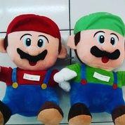 Boneka karakter game nintendo / smartphone si tukang ledeng dari jepang Super Mario Bros & Luigi 1set SNI NEW murah (5620487) di Kota Jakarta Selatan