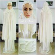 Mukena putih dewasa Syar'i Khadijah (5700229) di Kota Bogor