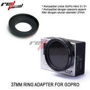 37MM RING ADAPTER FOR HERO GOPRO 3 /3+ (5703687) di Kota Jakarta Barat
