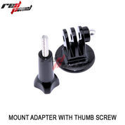 "1/4"" TRIPOD MOUNT ADAPTER WITH SCREW FOR GOPRO"
