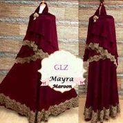 mayra maroon setelan hijab syari (5705175) di Kota Jakarta Barat