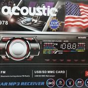 Acoustic AC978 Car MP3 Receifer FM Radio/USB/SD MMC Card Player DC12V (5707583) di Kab. Bekasi