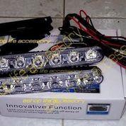 aksesoris Lampu LED DRL FORTUNER mobil waterproof anti air depan sport (5719105) di Kota Jakarta Barat