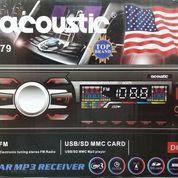 Acoustic AC979 Car MP3 Receifer FM Radio/USB/SD MMC Card Player DC12V (5719131) di Kab. Bekasi