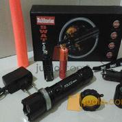 Senter police 5 mode lensa kuning standar 98.000wt