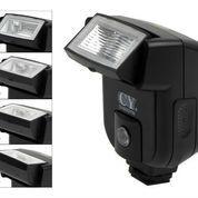 CY-20 Flash Mungil universal Canon, Nikon, Pentax, Panasonic Mirrorles (5795513) di Kota Lubuk Linggau