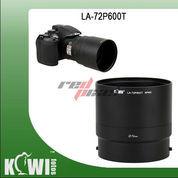 KIWIFOTOS LA-72P600T ~ LENS ADAPTER FOR NIKON P600/P610