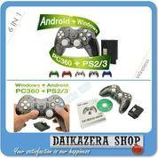 Joystick USB Wireless Gamepad 2.4G for PS2 PS3 PC Windows Android (5886701) di Kota Bogor