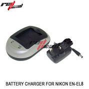 BATTERY CHARGER FOR NIKON EN-EL8