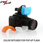 POP-UP COLOR DIFFUSER FOR ALL DSLR