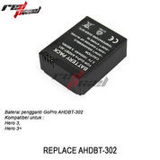 Battery AHDBT-302 FOR GOPRO (1680mAh / KW)