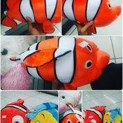Boneka / Bantal mainan anak karakter hewan ikan hias air laut tokoh film kartun Finding Nemo Si Nemo & Flonder SNI NEW murah (5999855) di Kota Jakarta Selatan