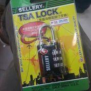 Gembok kunci pengaman Koper Sellery 10.000 setting