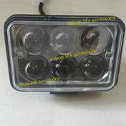 Lampu sorot led motor / mobil sinar fokus 18 watt kotak waterproof