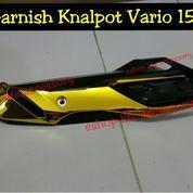 Aksesoris variasi Garnish Knalpot Honda vario 150/125